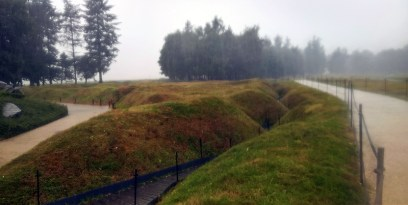 Beaumont-Hamel Trenches in the Rain
