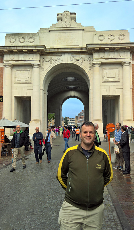 At the Menin Gate