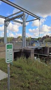Canal Bridge and Cycle Route Signs