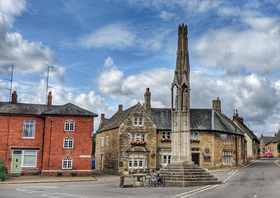 At Geddington Cross
