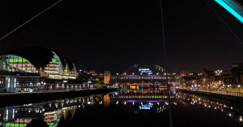 Night Time on the Tyne
