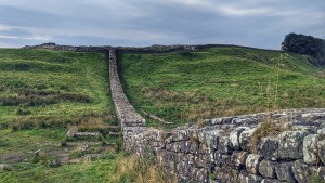 Approaching Housesteads