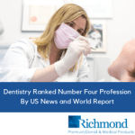 Dentistry Ranked Number Four Profession By US News and World Report