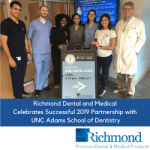 Richmond Dental and Medical Celebrates Successful 2019 Partnership with UNC Adams School of Dentistry