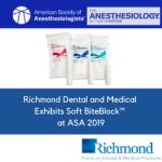Richmond Dental and Medical Exhibits Soft BiteBlock™ at ASA 2019