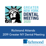 Richmond Attends 2019 Greater NY Dental Meeting