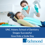 UNC Adams School of Dentistry Stages Unforgettable Give Kids A Smile Day