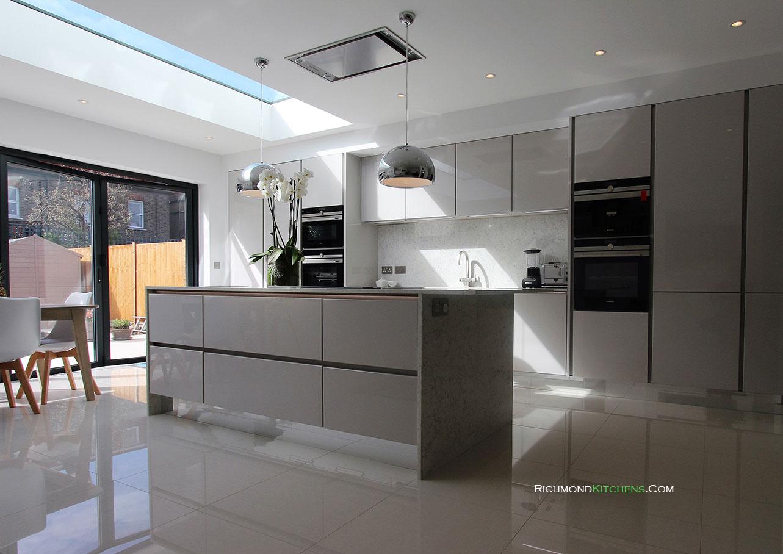german kitchen cabinets aid mixer cream ealing west london richmond kitchens