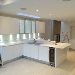 Kitchen Showrooms Aid Cover Showroom Wimbledon South West London J Profile Handle Less