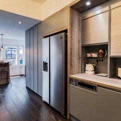 Franke Kitchen Sinks Brass Sink Handle-less Leicht Ealing London | Richmond Kitchens