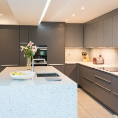 Slate Kitchen Appliances Built In Trash Cans For The Nobilia Slate/mineral Grey Chessington | Richmond ...