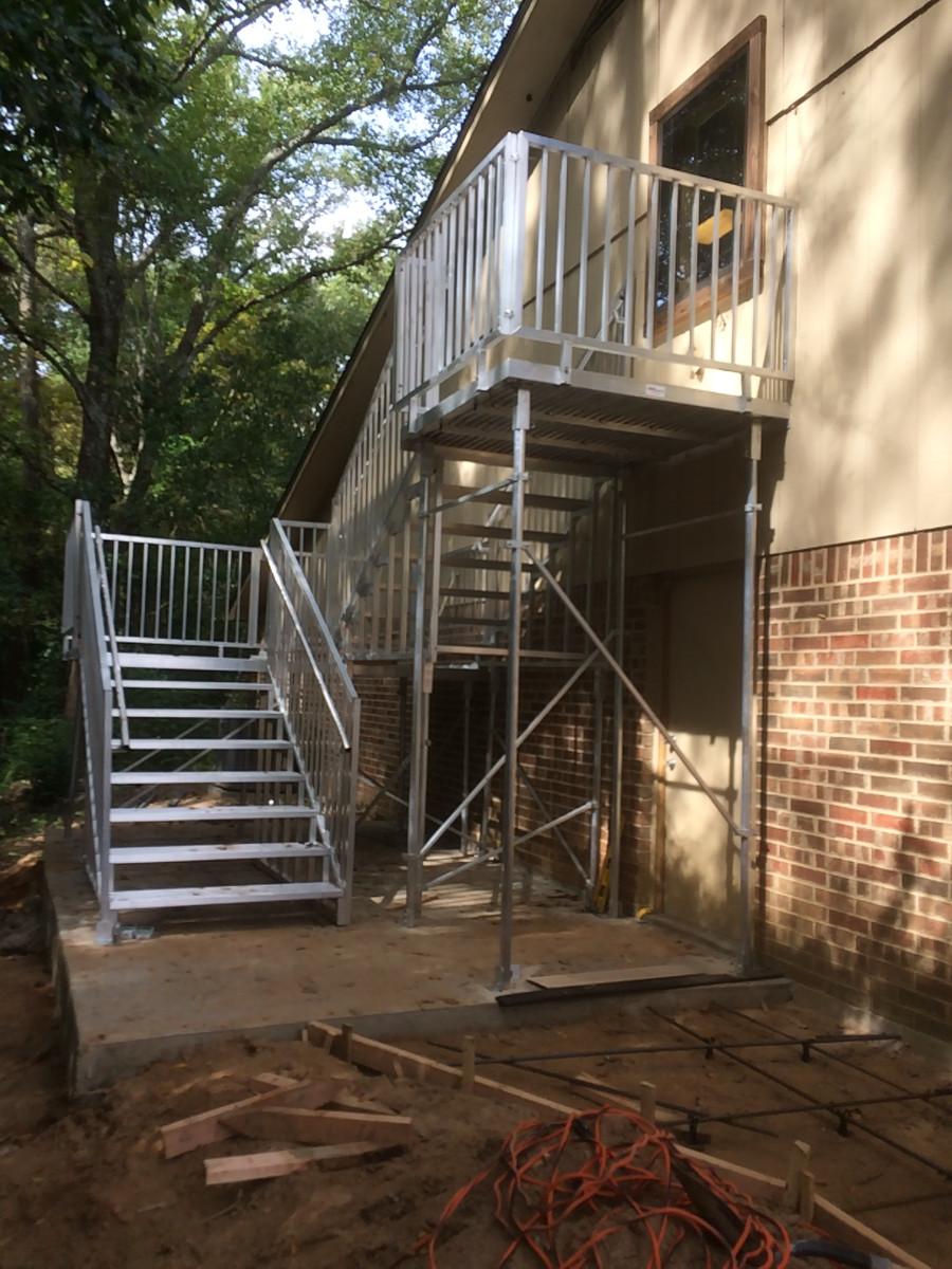 Gates Steps Richmond Ramps