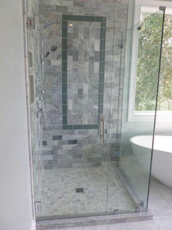 Cleveland Corner Shower 1200