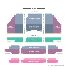 carpenter theatre seating chart [ 900 x 900 Pixel ]