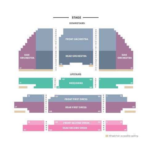 small resolution of carpenter theatre seating chart