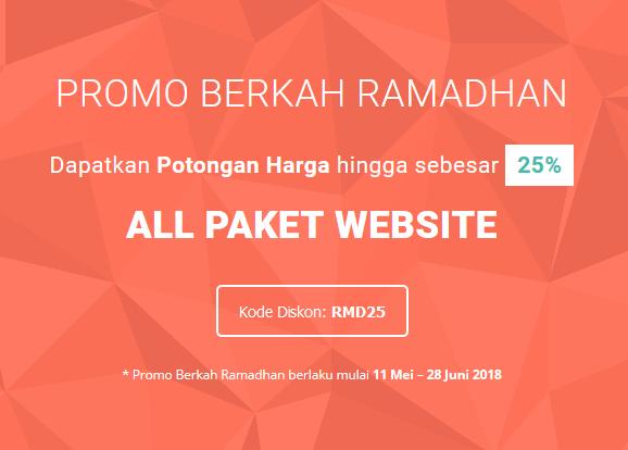 Promo Berkah Ramadhan Disc. 25%