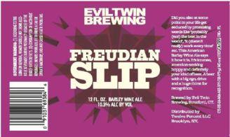 Evil Twin - Freudian Slip