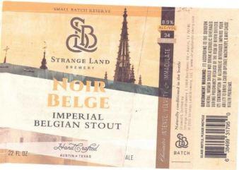 Strange Land - Noir Belge