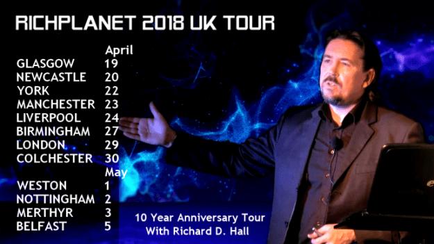 ichard D. Hall 2018 UK Speaking Tour