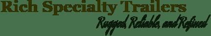 Portable Restroom Trailer Rugged Logo