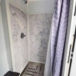 SHOWER TRAILER WITH SWIRL WALLS