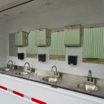 hand washing trailers sinks