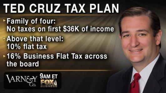 Cruz flat tax