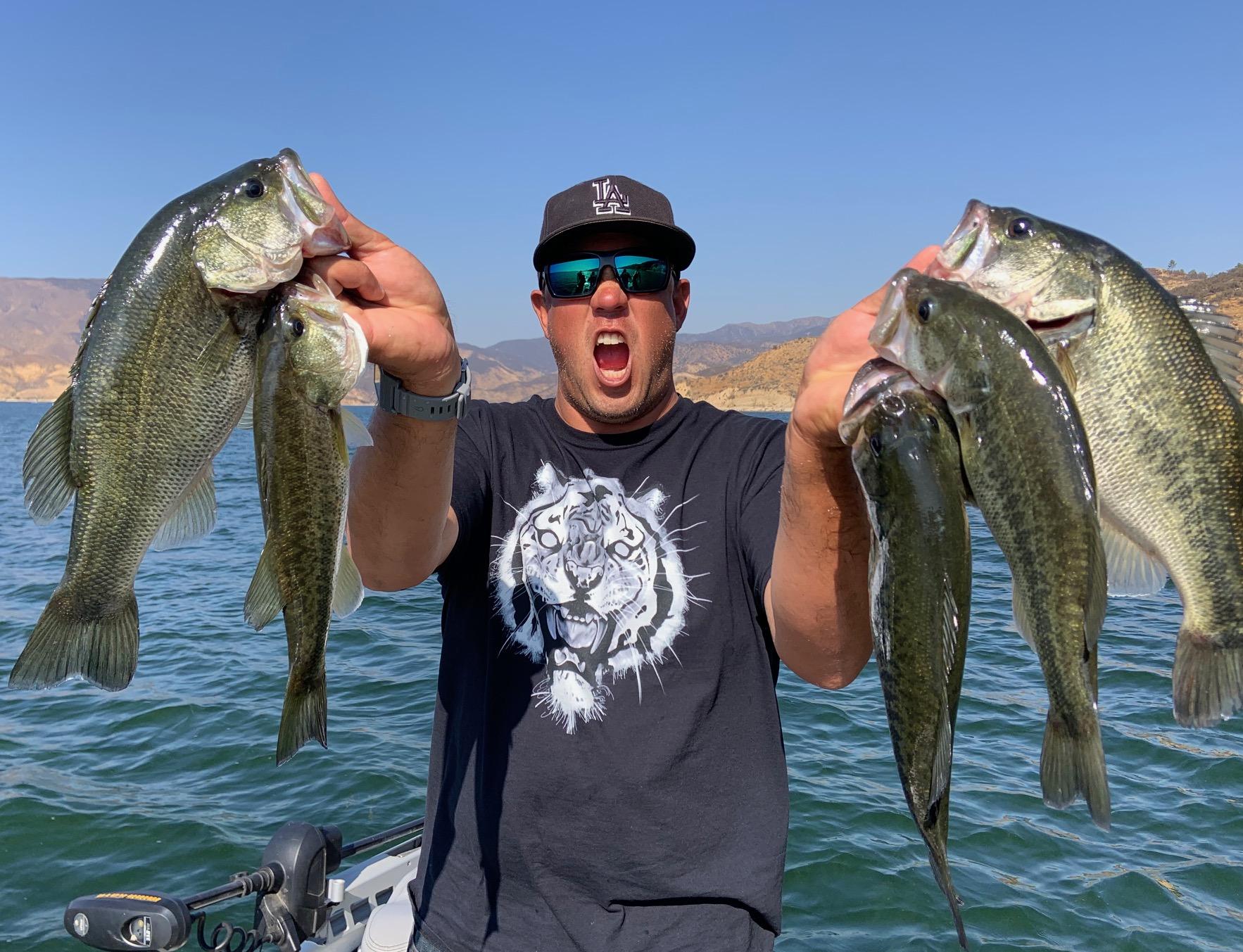 Castaic Lake Bass Fishing Guide 11/01/2019