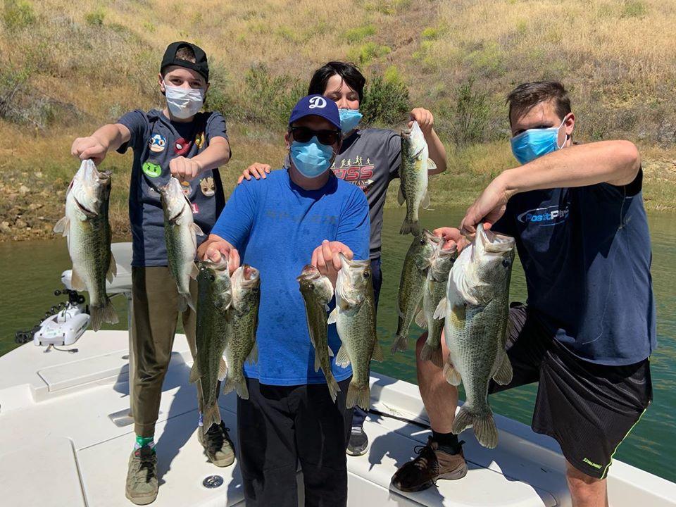 Southern California Bass Fishing Guide's Report 05/25/2020
