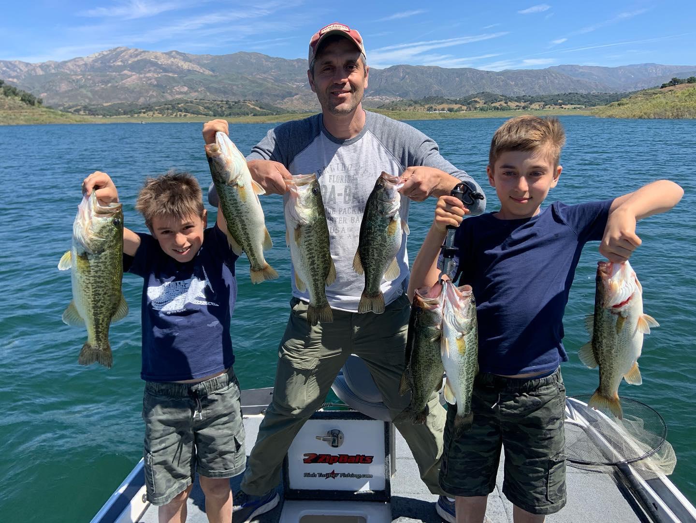 Southern California Bass Fishing Guide's Report 06/08/2020