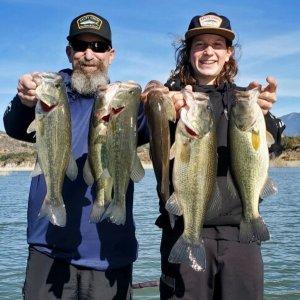 Southern California Bass Fishing Guide's Report 12/26/2020
