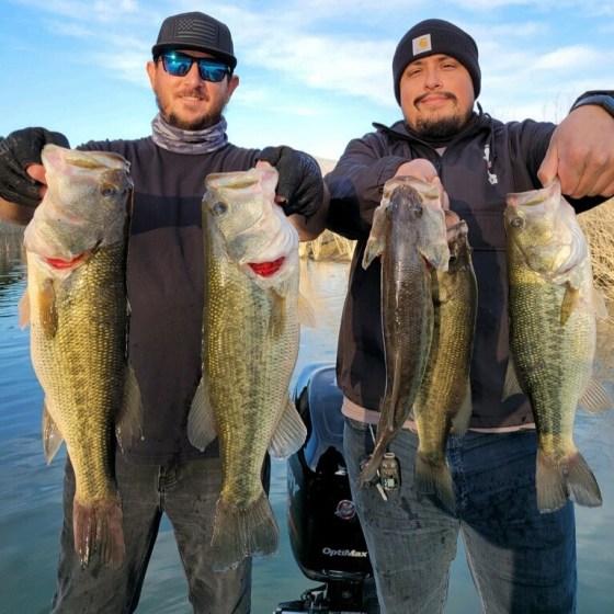 Southern California Bass Fishing Guide's Report 01/10/2021