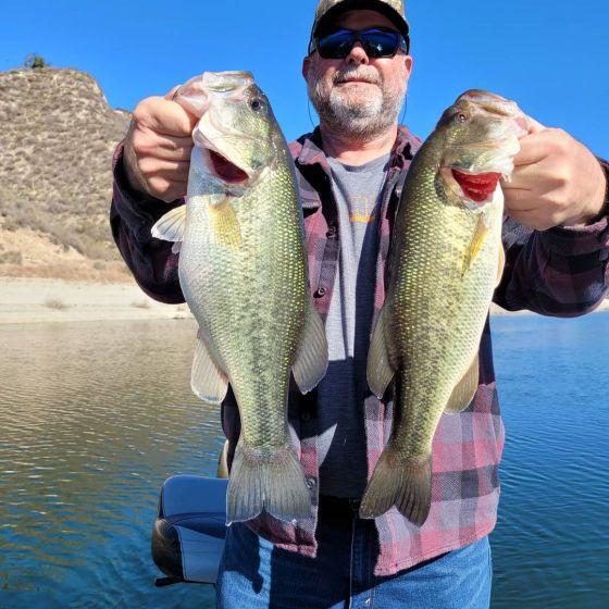 Southern California Bass Fishing Guide's Report 01/21/2021