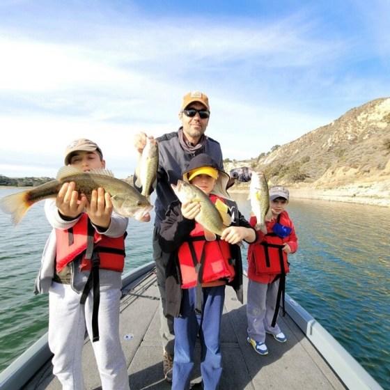 Southern California Bass Fishing Guide's Report 02/02/2021