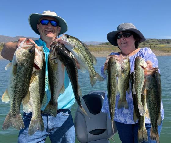 Southern California Bass Fishing Guide's Report 04/09/2021