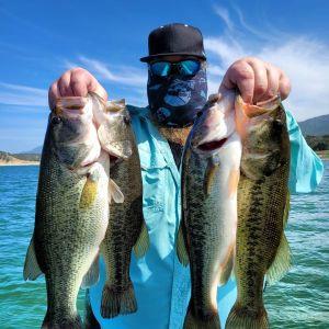 Southern California Bass Fishing Guide's Report 04/12/2021