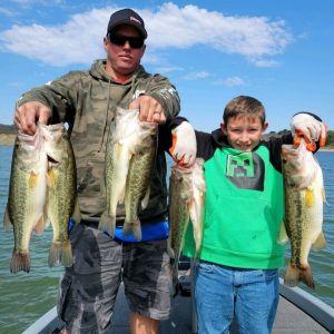 Southern California Bass Fishing Guide's Report 08/12/2021