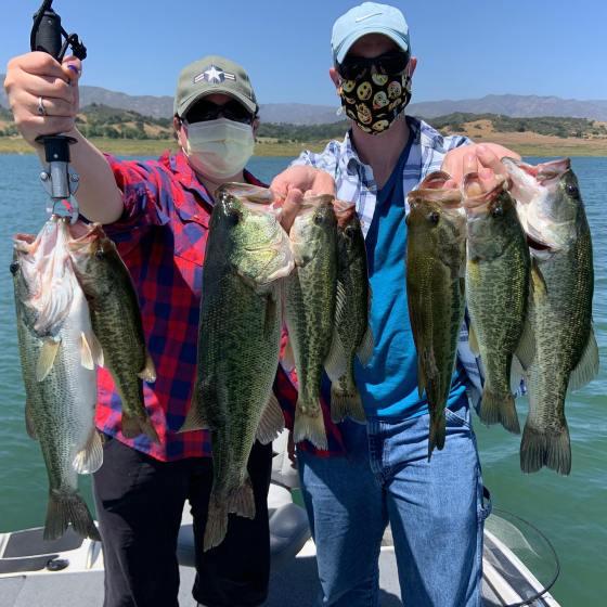 Southern California Bass Fishing Guide's Report 06/14/2020