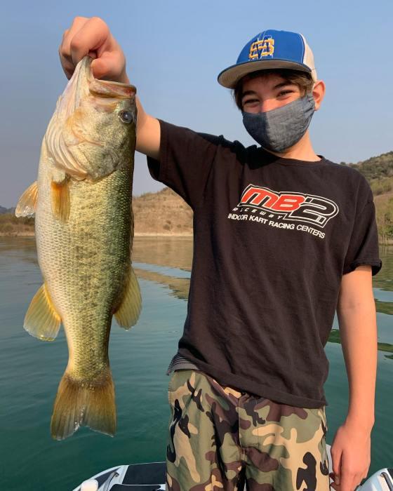 Southern California Bass Fishing Guide's Report 08/23/2020