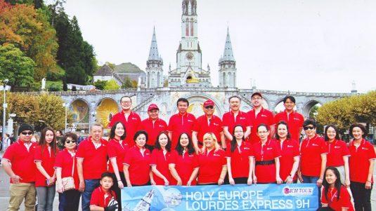 Holy Europe Lourdes 9 Hari - 12 Okt 2019