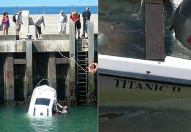 Photos Of Boating Mishaps And Misadventures RichZs Bass Blog - Clever pontoon boat names