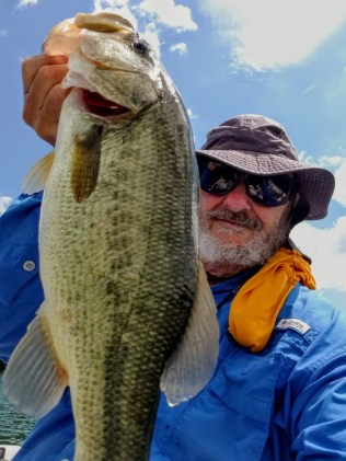 """My last fish off """"Rich's Rock"""" was a 3-12 bookend to my first fish of the day."""