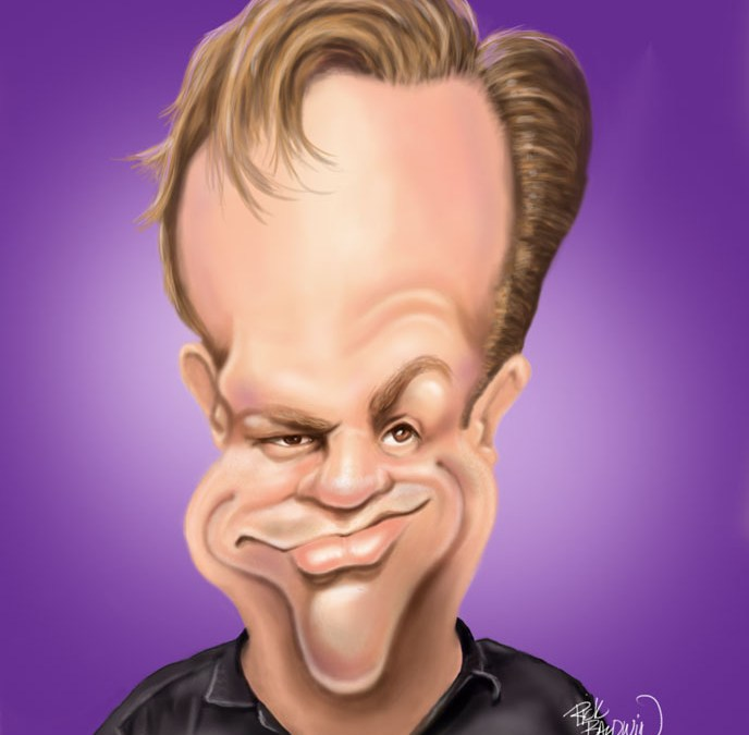 Cowboy Mouth's Fred LeBlanc in Caricature