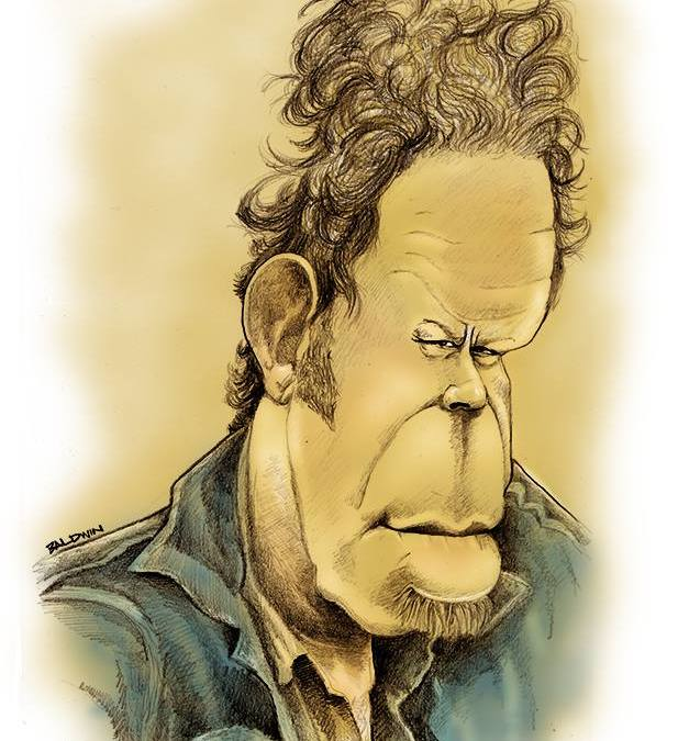 Tom Waits Caricature