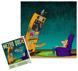 Metro Pulse cover 12-08 by Rick Baldwin