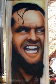 The Shining mural