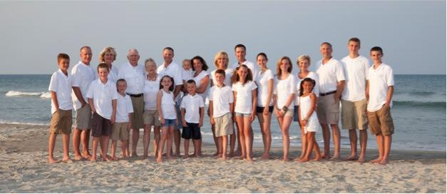 Rick Coplin Beach Family Vacation