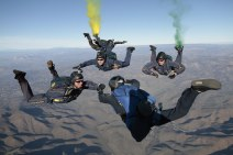 US Navy Leap Frogs Team