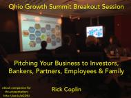 Ohio Growth Summit Presentation Rick Coplin