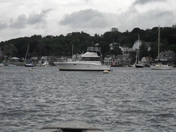 Ginger Lee moored.